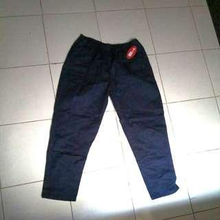 Celana katun karet anti begah/celana hamil NEW