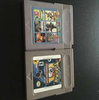 Gameboy advance 85 in one and Pokemon trading card game (free cartridge)!!!!!