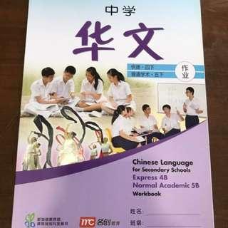 Chinese Sec 4B Workbook