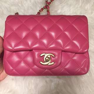 [SOLD]Chanel Mini Square classic flap