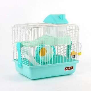 Hamster cage castle