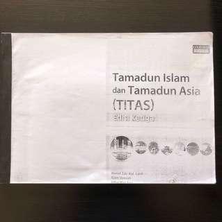 Titas (third edition) by Oxfor Fajar - Photostat
