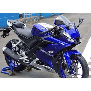 Yamaha New R15 D/P $500 or $0 (Terms and conditions apply. Pls call 67468582 De Xing Motor Pte Ltd Blk 3006 Ubi Road 1 #01-356 S 408700.