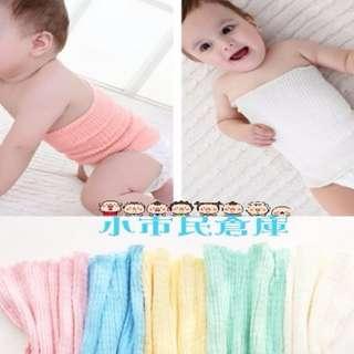 小市民倉庫~24公分~寶寶條紋肚圍~純棉肚圍~嬰幼兒護臍帶~兒童護肚腹圍~幼兒睡覺必備~四季通用~防著涼~5色可選