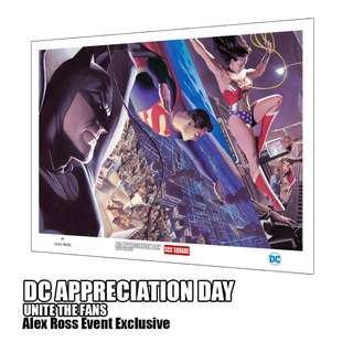 Alex Ross LIBERTY AND JUSTICE: TRINITY