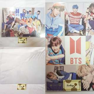 [COMBO] BTS Love Yourself Her V ver. Posters with poster holder