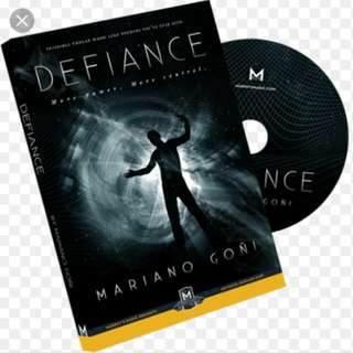 Defiance by Mariano Goni (Tutorial only)