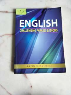 English Phrases and Idioms