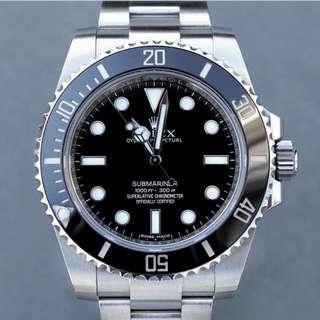 Rolex Submariner - No Date - 114060