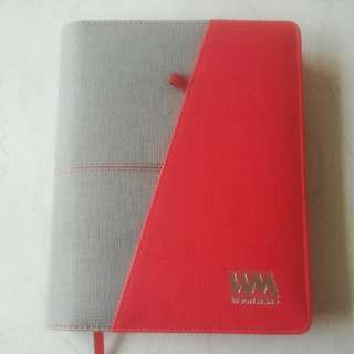 2018 Leather Management Diary/Planner/Monthly Schedule/Notebook