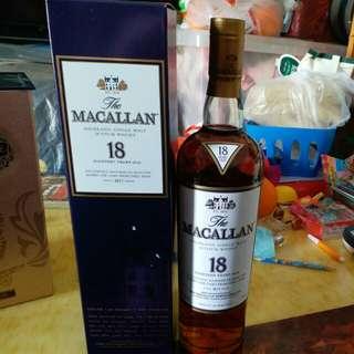 Macallan 18年(行貨)