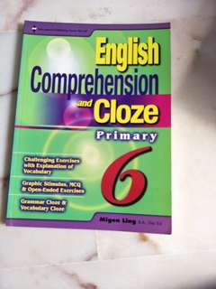 Primary 6 Comprehension and Cloze