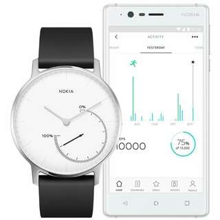 Nokia steel watch 36mm