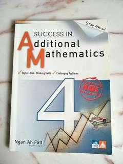 Additional Maths Secondary 4