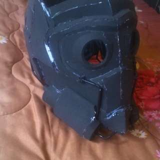 Unfinished star lord helmet