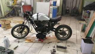 Modenas jaguh cafe racer bobber custom caferacer