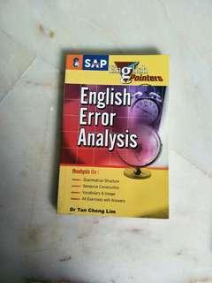 English Error Analysis