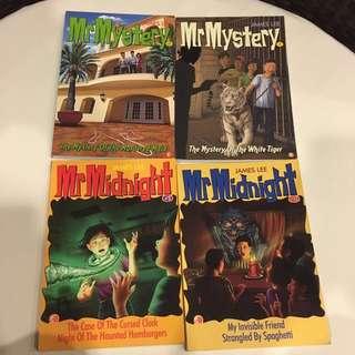 Mr Midnight Mr Mystery Books