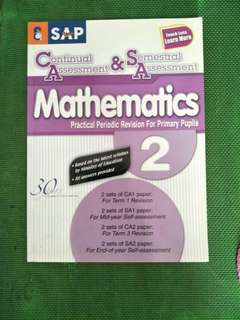 Primary 2 Maths CA and SA revision