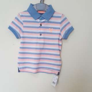 New mothercare poloshirt