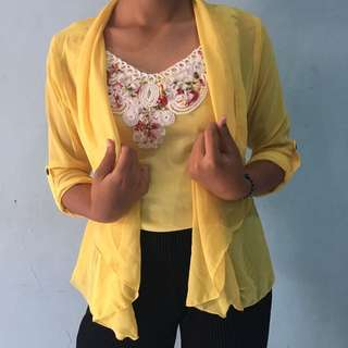Outer + Inner Yellow
