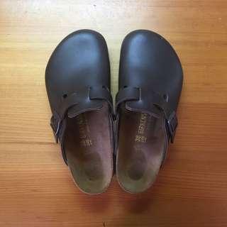 德國製正版勃肯鞋Birkenstock Boston款38號