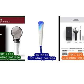 [PRE-ORDER] KPOP Official Lightsticks ~