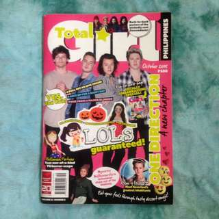 Total Girl One Direction (October 2015)