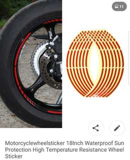 Reflective Rim Decal(RED)..can be deliver to u at very low fee. i can deliver to ur place of choice at a minimal fee ..up to u how much n what u would like to give me..as long its not food ..no pork no lard..hehehe..God bless..: