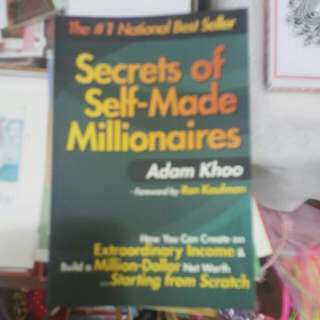Adam Khoo - secrets of self made millionaires