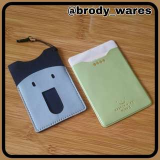 Card Holders(Green and Blue)