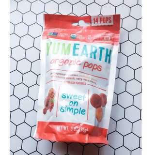 🚚 美國YumEarth有機維他命C棒棒糖 14支