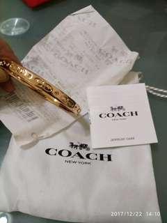 美國名牌COACH NEW 包14k玫瑰金鈪(全新)大减價,有單