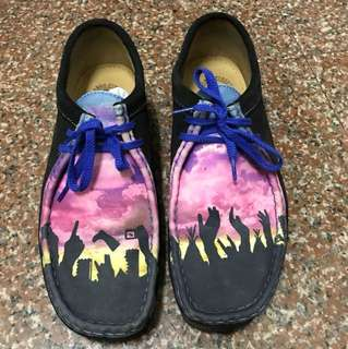 🚚 clarks originals 袋鼠鞋