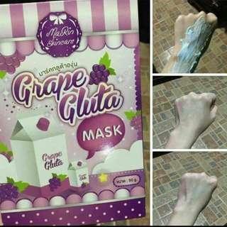 Grape Gluta Mask