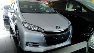 2013 Toyota Wish 1.8(A)