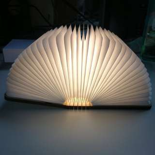 Folding Book LED Lamp