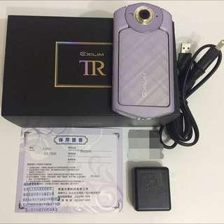 Casio TR-60 TR60 紫 美肌相機 自拍神器#尾牙家電出清
