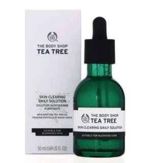 The Body Shop茶樹淨膚淨化調理菁萃(50ML) #舊愛換新歡