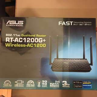 ASUS Dual Band Router Wireless AC1200