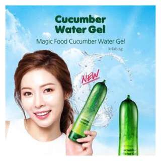 Magic Food Cucumber Water Gel