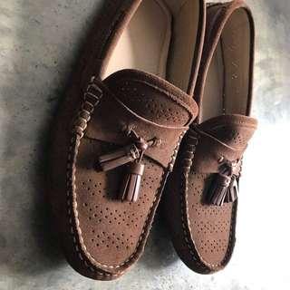 Zara Man Brown Moccasin