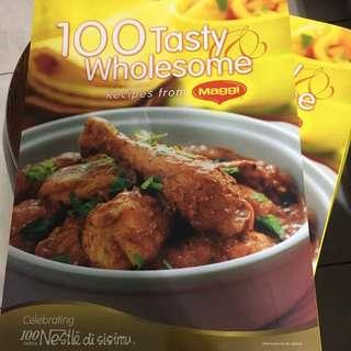 100 recipes from Maggi Recipe book