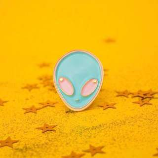 Soft Enamel Pins Alien