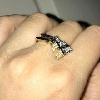 DKNY rings