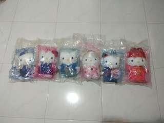 McDonald's Hello Kitty Plush Toys