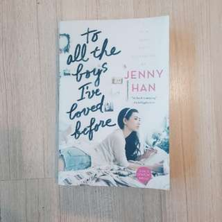💐💌 to all the boys i've loved before - jenny han [BRAND NEW]