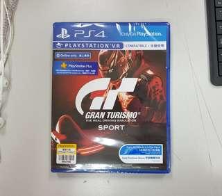 GT Sport (Sealed未開封)