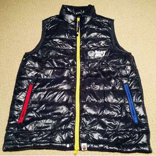 Bathing Ape bubble vest (XL)