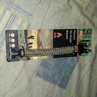 Paracord Fire Starter Bracelet